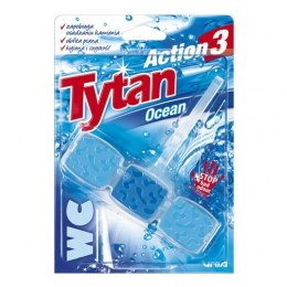 Kostka toaletowa do WC Tytan Action 3 Ocean 45g